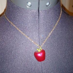 Jewelry - Apple charm necklace